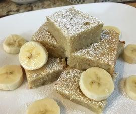 White Chocolate Banana Brownies