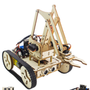 How To Assemble An Impressive Wooden Robot Arm(Part1: Robot for Line-tracking) -- Based on the Micro: Bit
