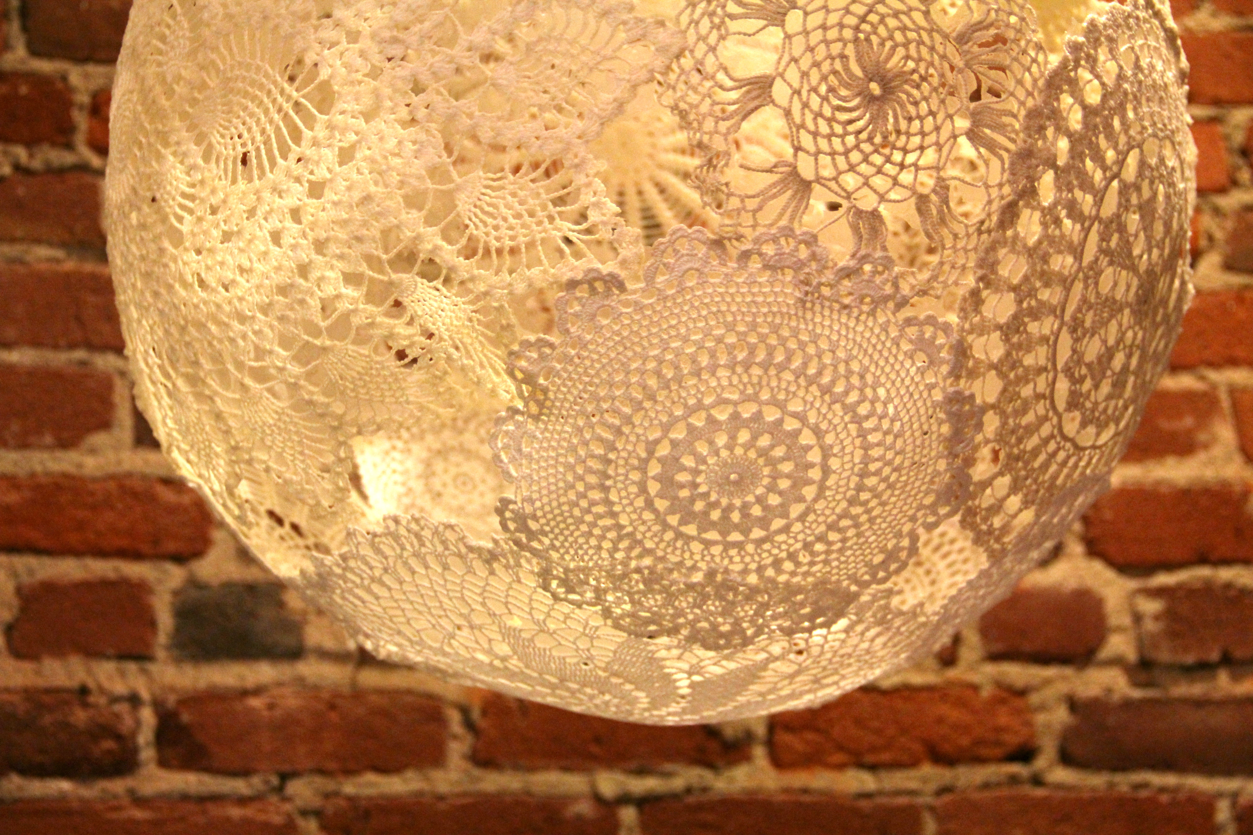 Picture of Doily Lamp