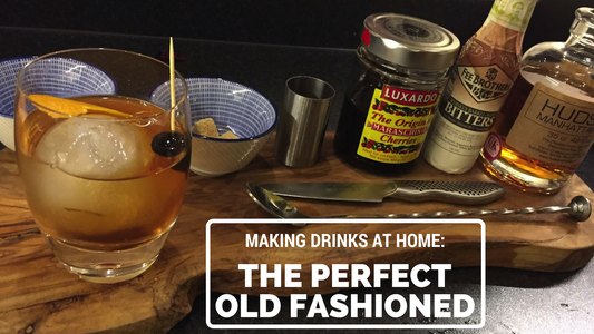 Making Drinks at Home: the Perfect Old Fashioned