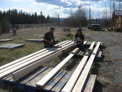 Building a New 20 Foot Gertee