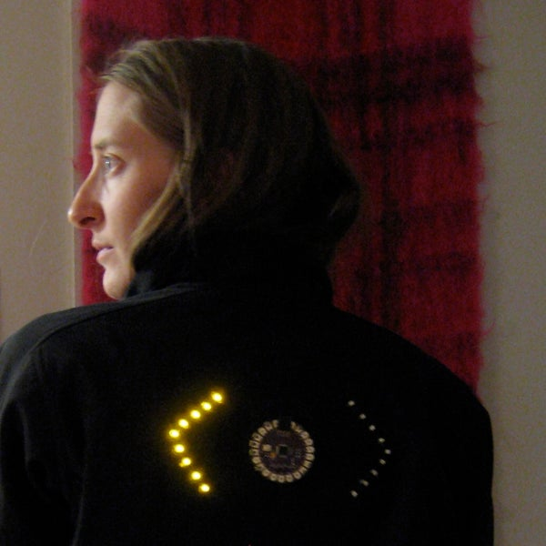 Turn Signal Biking Jacket
