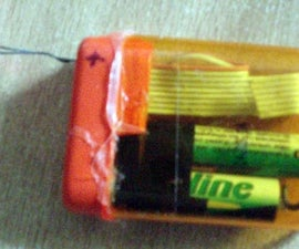 Simple LED Tester in a TicTac box