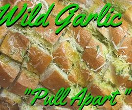 "Wild Garlic ""Pull-apart"" Bread"