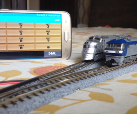 Control Your Model Train Layout With Your Mobile Phone!