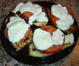 "Grilled Eggplant ""Parm"""