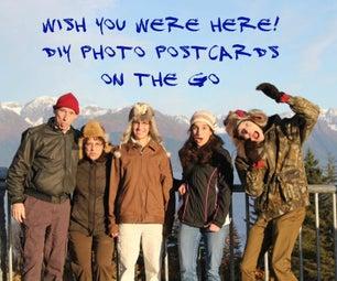 DIY Photo Postcards on the Go