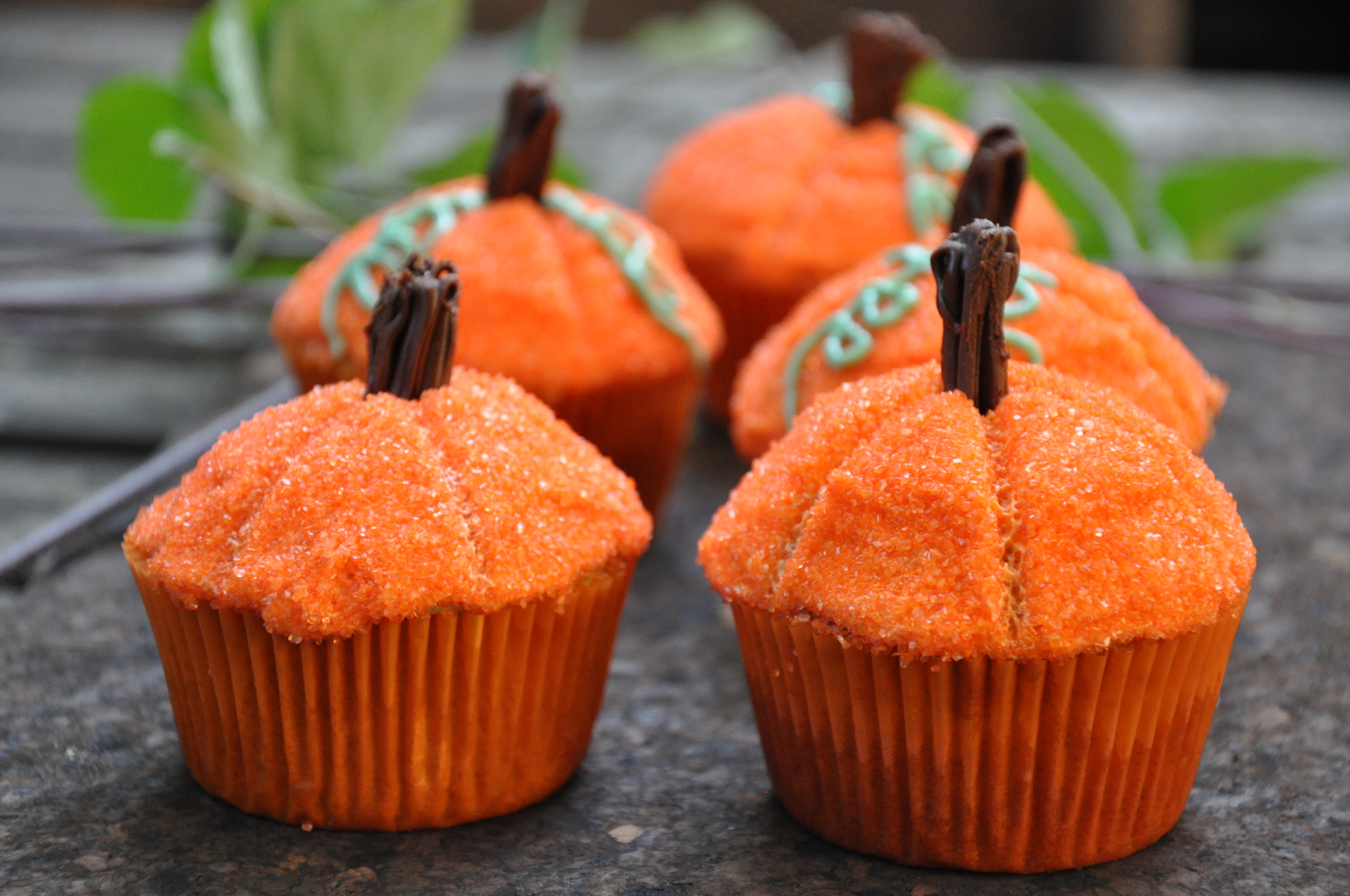 Picture of Pumpkin Top Cupcakes