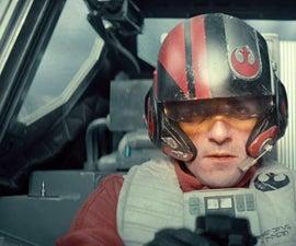 Star Wars: Poe Dameron Helmet - How To DIY