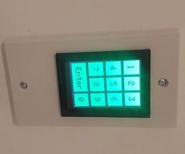 Arduino TFT Touchscreen Door Lock
