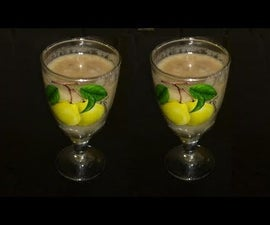 Healthy Apple Banana Smoothie | Apple Banana Shake