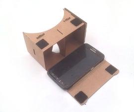 Laser cut your own Google Cardboard with Ponoko