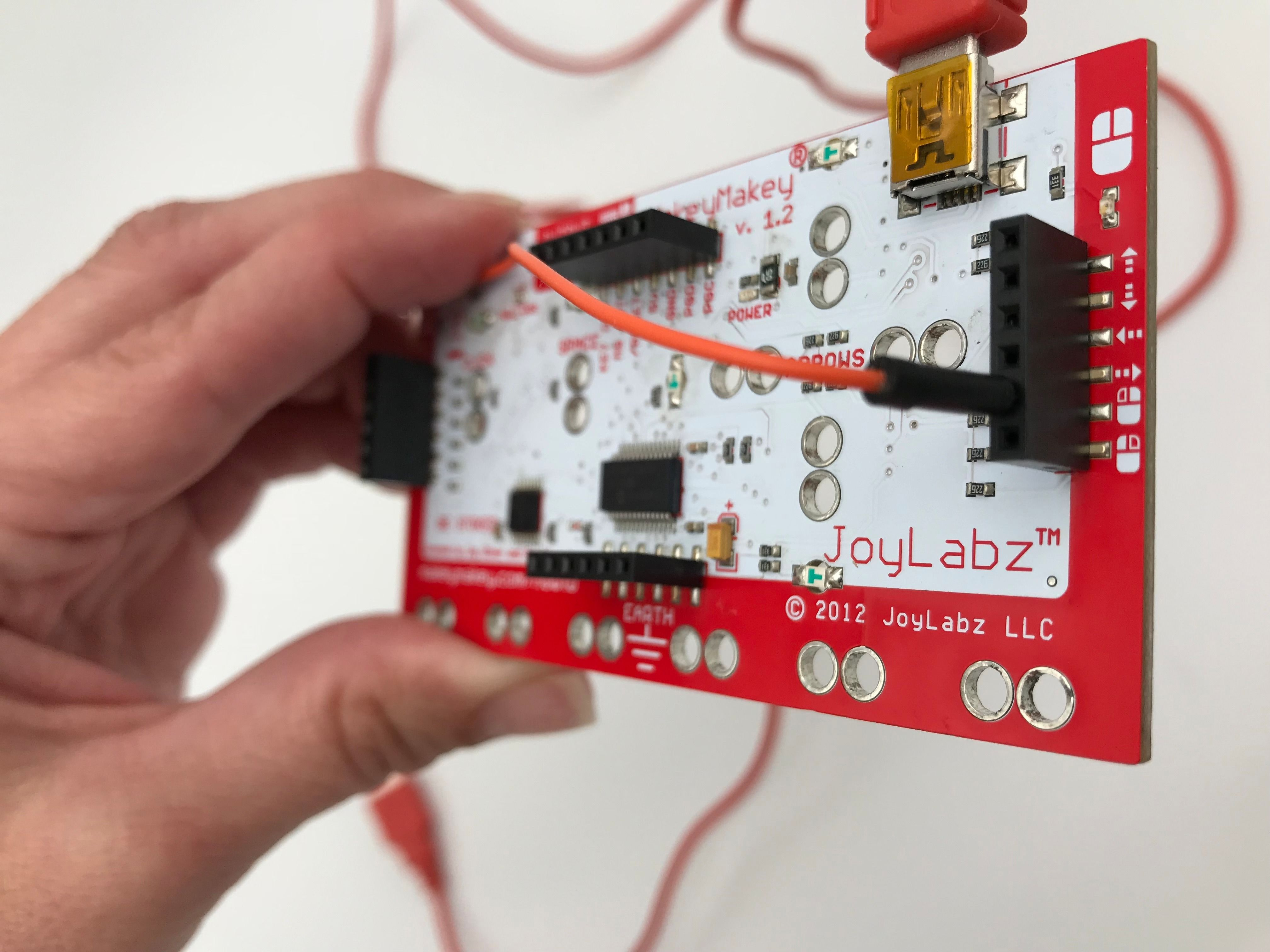 "Picture of Another ""click"" on the Makey Makey Controller"