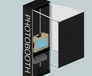 Ultimate Homemade Photo Booth