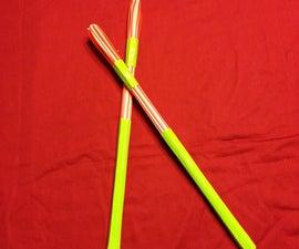 Homemade Hot Rods (Drum Sticks)