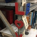 Concrete Alphabet Magnet by Using Omax Waterjet