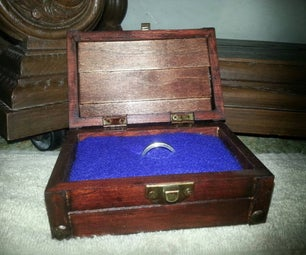 Zelda Inspired Engagement Ring Chest With Sound