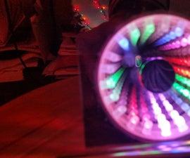 Audio Spectrum Analyzer Infinity Mirror