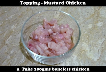 Mustard Chicken With Pineapple Topping