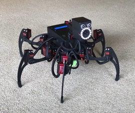 Jasper the Arduino Hexapod V1