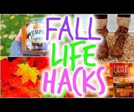 DIY Fall Life Hacks