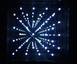 8x8 LED Array Multiplexed Infinity Mirror