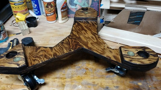 Sand Stain, and Poly