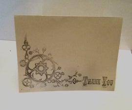 DIY Thank You Cards