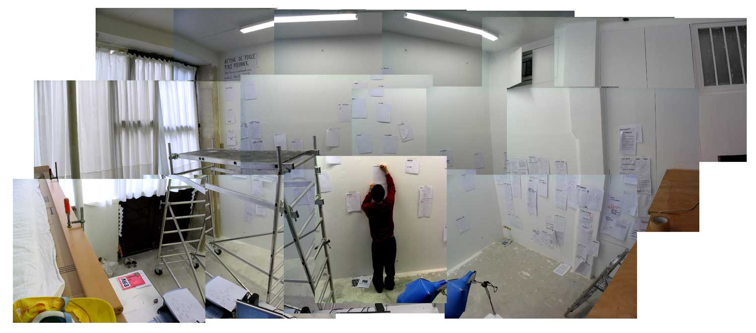 Picture of Using the Space : Testing the White Cube : Writting an Essay