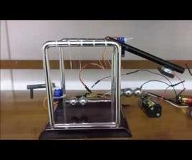 Automated Newton's Cradle