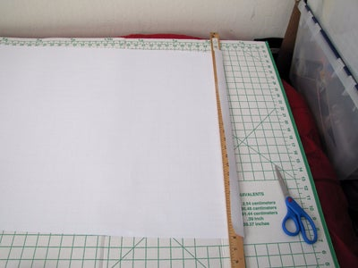 Prepare Background Sheet for Mounting