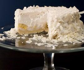 Easy To Make Coconut Cream Pie Recipe AllgoneVegan.com