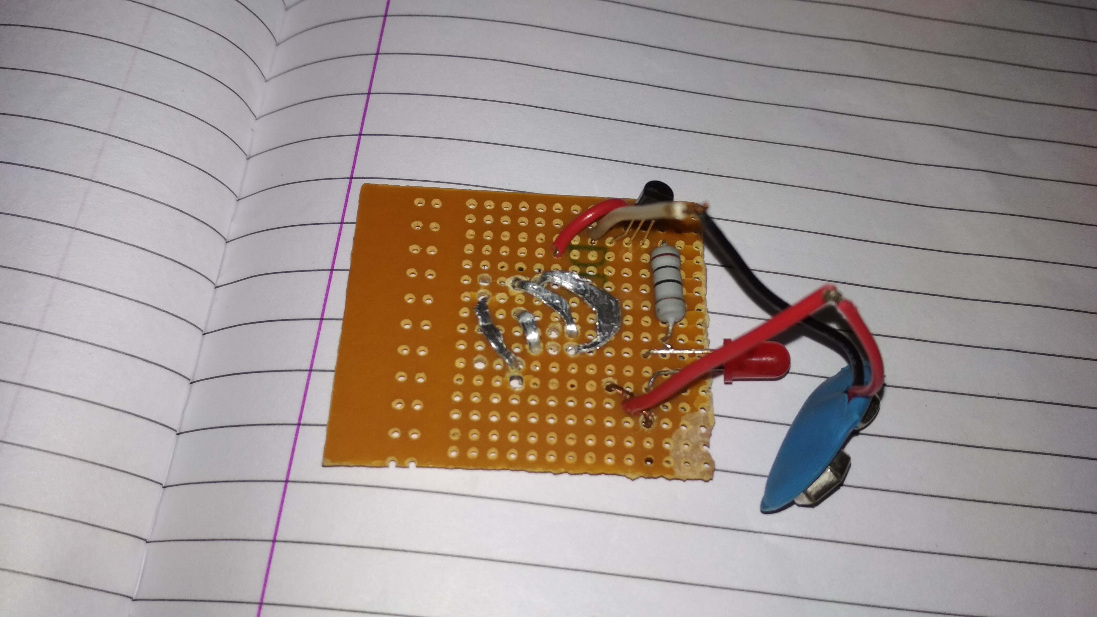 Picture of Simple Touch Sensor With Touch Pad
