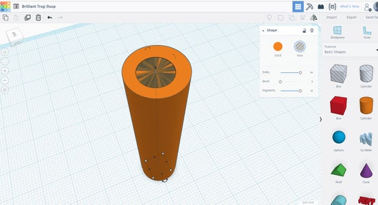 Modeling the 3d Printed Part