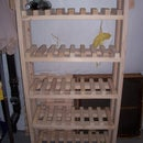 High Capacity Wine Rack
