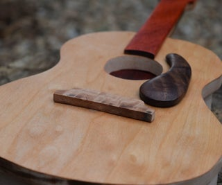 Handcrafted Guitar Puzzle Box!