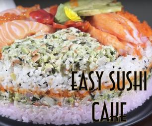Easy Sushi Cake Recipe