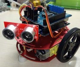 """GRECO"" - Arduino Object Avoiding Robotfor Beginners"