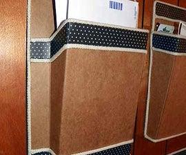 Budweiser Box Cardboard Wall Mounted Mail Holder
