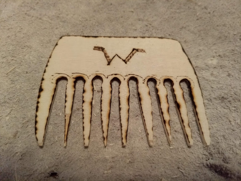 Picture of A Personalized Wooden Comb
