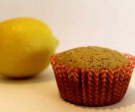 Healthy Lemon Poppy-seed Muffins