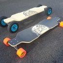 Lasercut Skateboard Deck Press