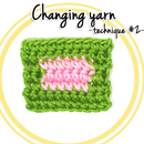 How to Change Yarn in Crochet (technique #2)