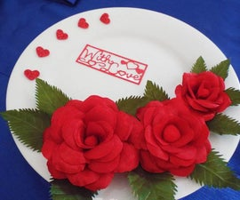 """A Plate """"With Love"""""""