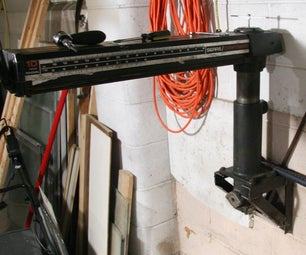 Radial-Arm Saw Overhaul & Modification for Low Profile Storage
