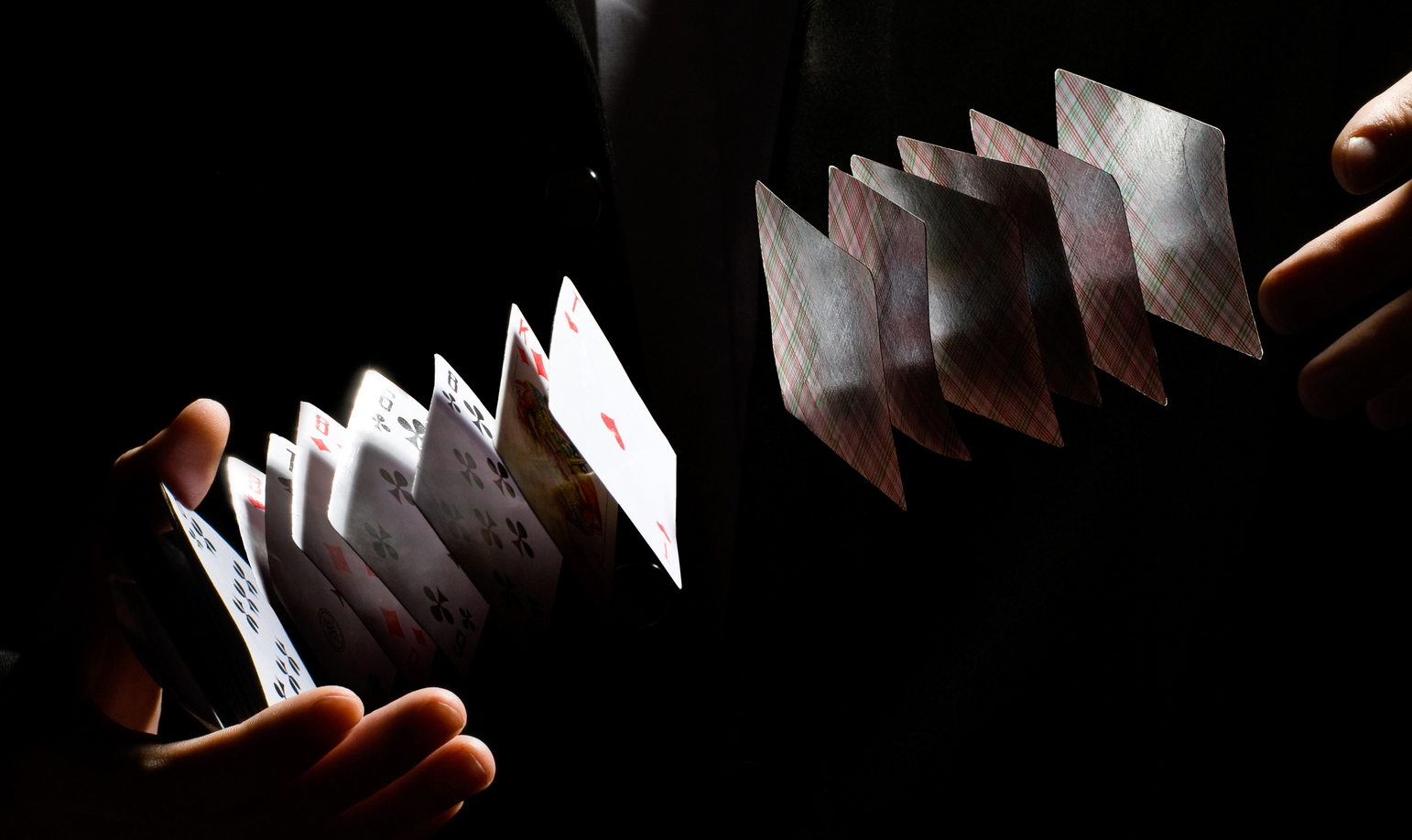 Picture of How to Do a Simple Magic Trick With Playing Cards