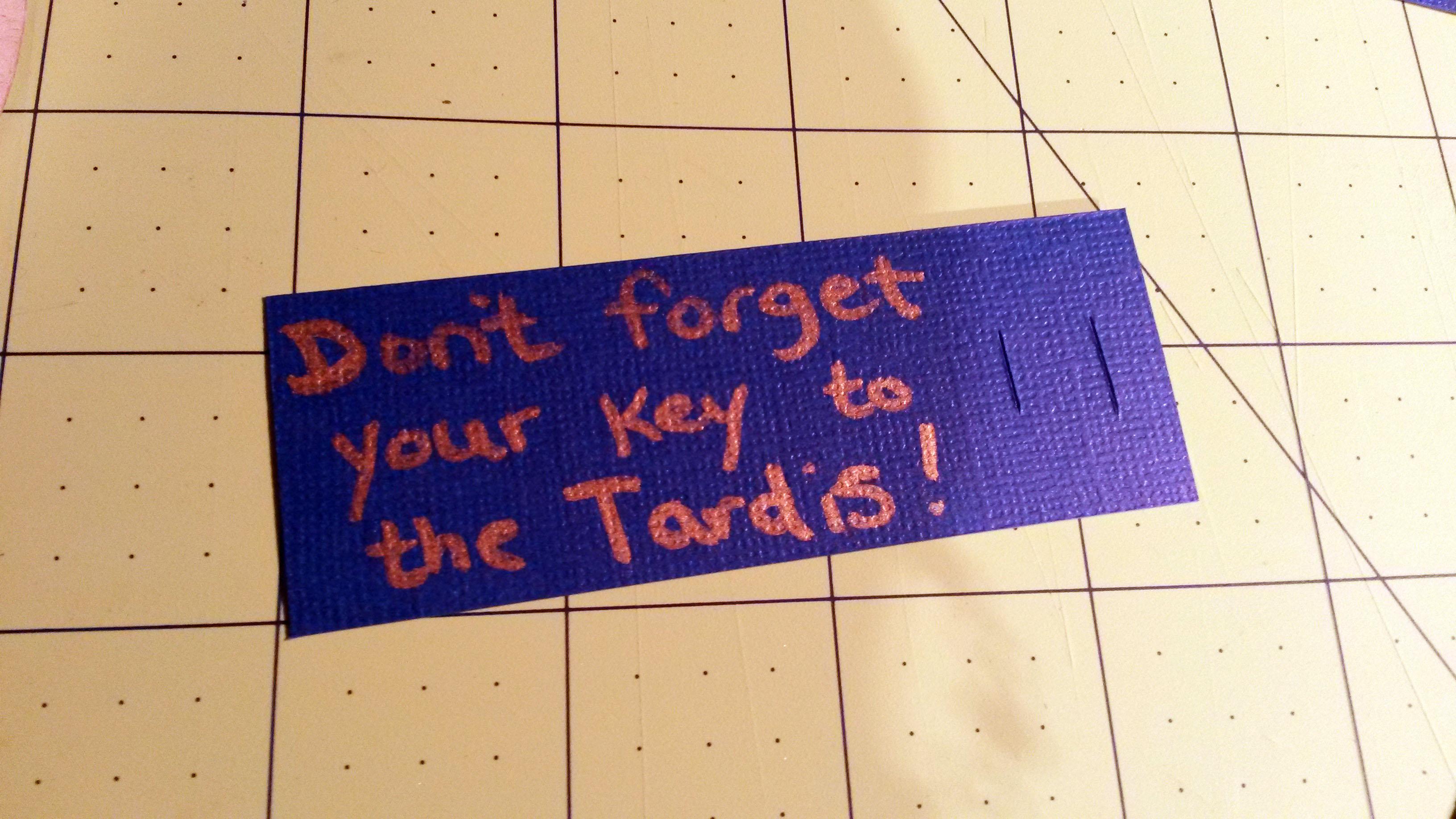 Picture of Tardis Key