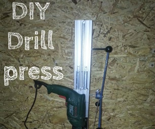 Drill Press DIY (edited)
