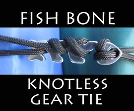 Fish Bone - Knotless Gear Tie