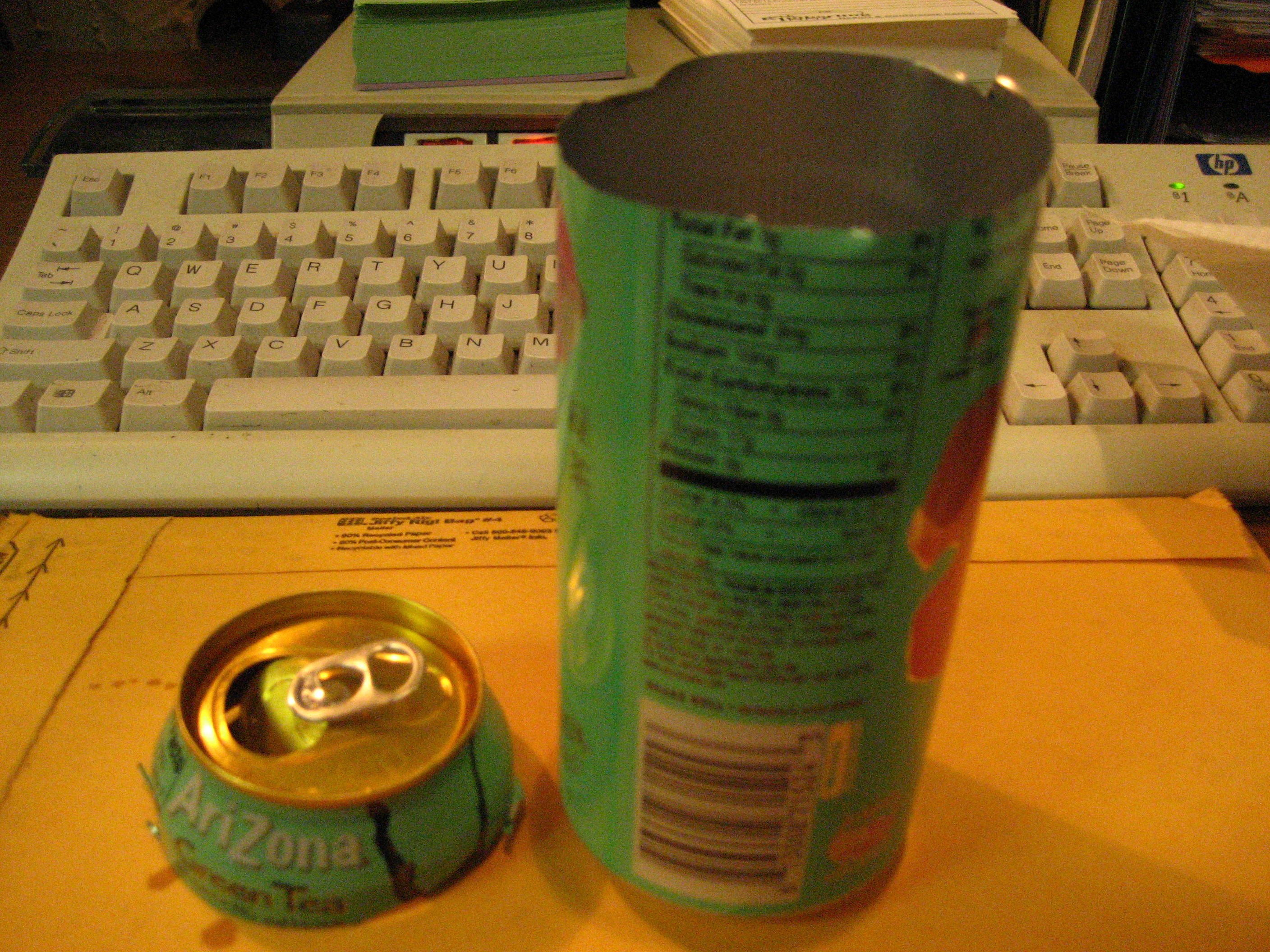 Picture of Prepare the Can or Bottle